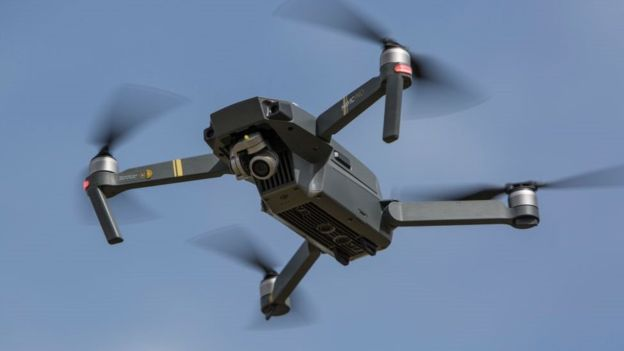 Mavic Air: DJI launches 'ultraportable' drone